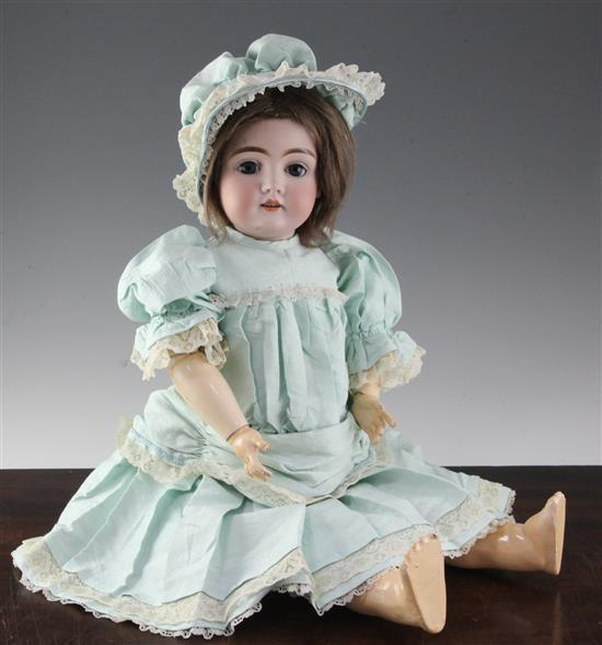 A Kestner bisque head child doll, no. '146', 24in.