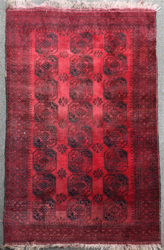 A Bokhara carpet, 10ft 3in by 7ft 7in.