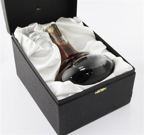 One Tomatin 1897-1997 centenary decanter Highland malt whisky and stopper,