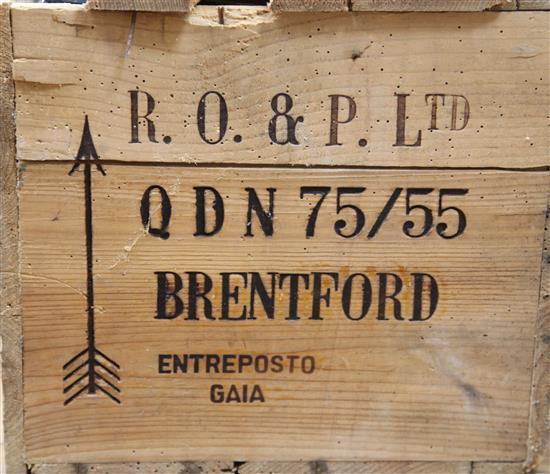 A case of twelve bottles of Quinta do Noval 1970 Vintage Port,