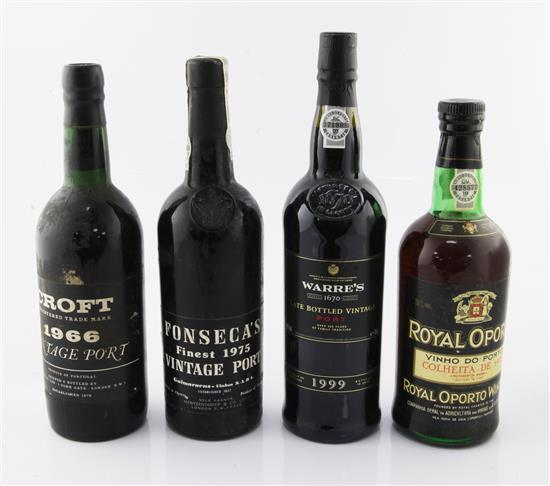 4 assorted Ports.
