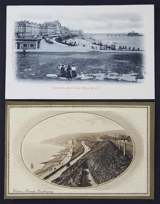 Eastbourne postcards - George V and later,