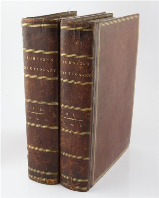 Johnson, Samuel - A Dictionary of the English Language,