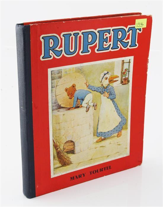Rupert the Bear. An extensive collection of books, 1943 onwards.