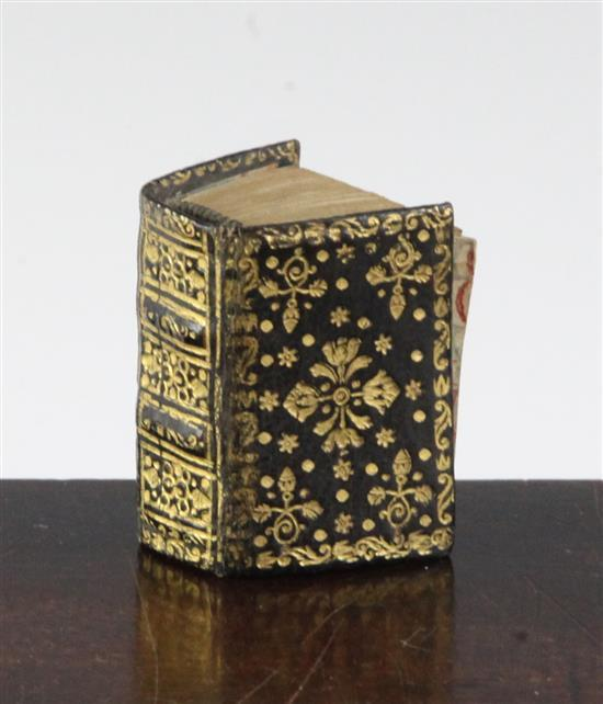 Miniature Printing: An early 18th century miniature Bible - 'Biblia or a Practical Summary of Ye Old and New Testaments',