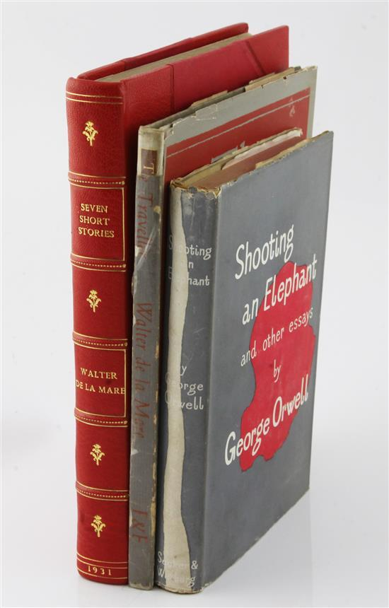 De La Mare, Walter - Seven Short Stories, (3)