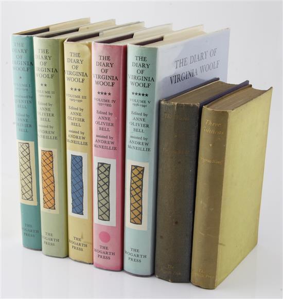 Woolf, Virginia - Three Works: The Waves, (7)