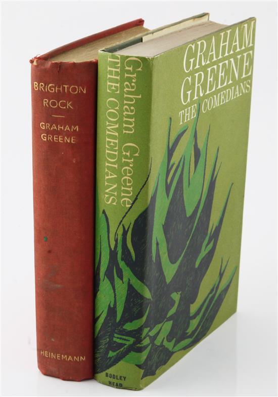 Greene, Graham - Brighton Rock & The Comedians