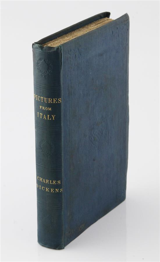 Dickens, Charles - Pictures from Italy,