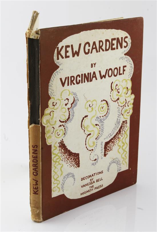 Woolf, Virginia - Kew Gardens,