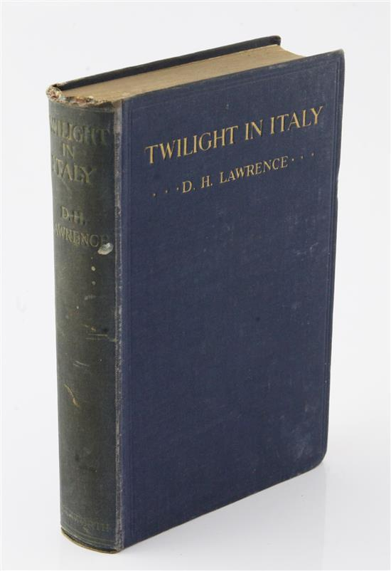 Lawrence, David Herbert - Twilight in Italy,