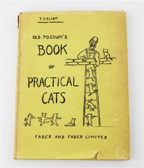 Eliot, Thomas Stearns - Old Possum's Book of Practical Cats,