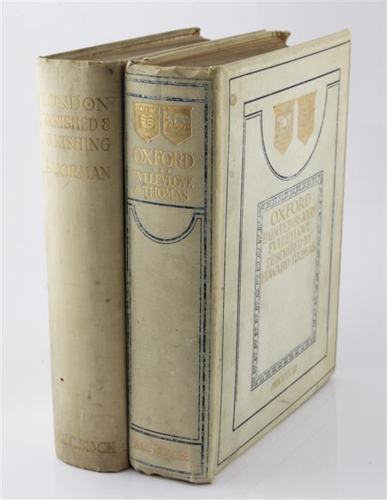 Thomas, E. - Oxford, painted John Fulleylove R.I.
