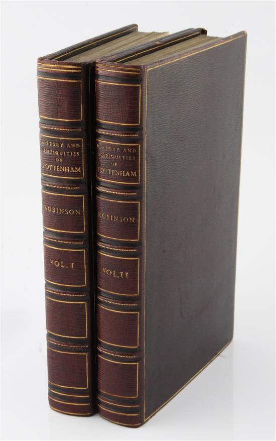 Robinson, William - The History and Antiquities of the Parish of Tottenham in the County of Middlesex,