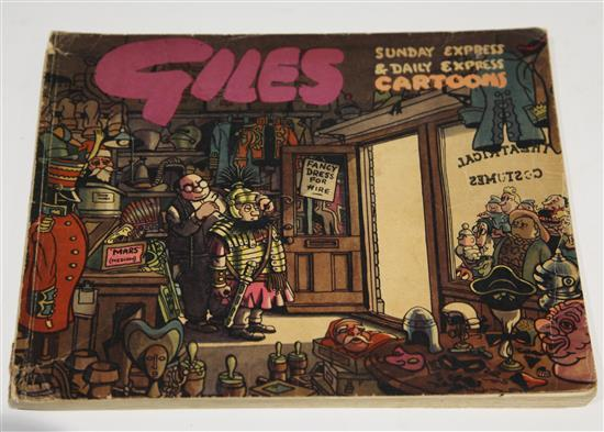 Giles, Carl (1916-1995). A set of Annuals from 1946-1991 (Series 1 - 45),