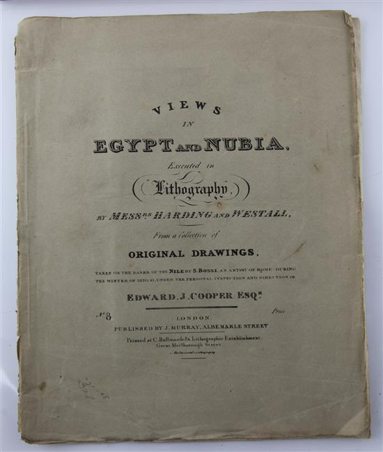 Cooper, Edward Joshua - Views in Egypt and Nubia,