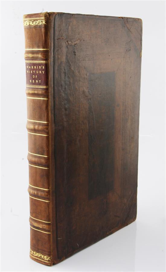Harris, John - The History of Kent,