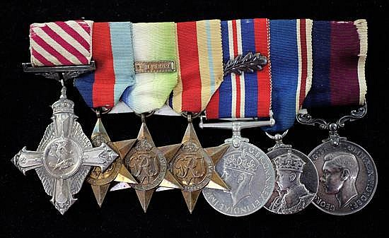 A George VI Air Force Cross group to Master Navigator Henry James Baxter RAF