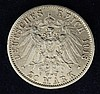 A Wilhelm II 1913 20 mark gold coin,