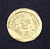 Eastern Roman Empire- Byzantine Period, a Maurice Tiberius, Angel Gold Solidus, AD 582 - 602.