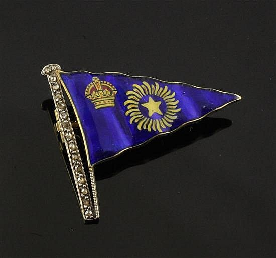 Royal Bombay Yacht Club brooch.