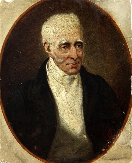 C*A* Portrait of the Duke of Wellington as an old man 11 x 8.5in., unframed
