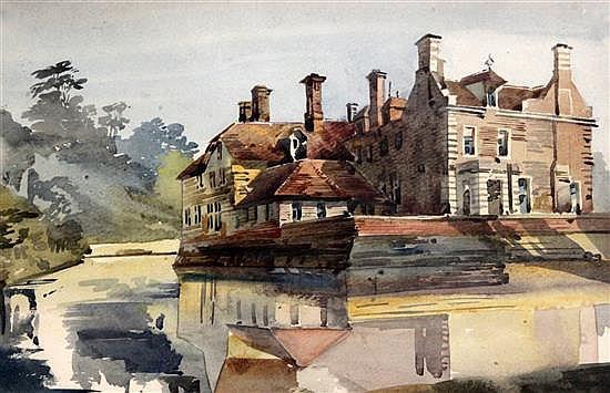 Augustus John Cuthbert Hare (1834-1903) Views of Glassenbury near Goudhurst; St John Soanes Grammar School; Ford Castle, Northumberland