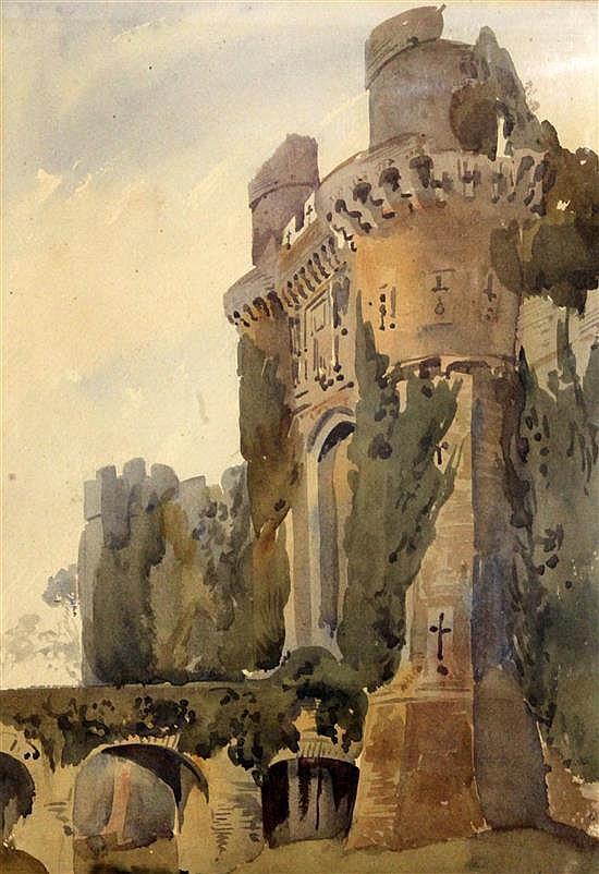 Augustus John Cuthbert Hare (1834-1903) Herstmonceux Castle; The Bell Inn, Holborn; Edinburgh; The Tower of London; Salisbury and The A