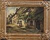 Frank Moss Bennett (1874-1953) 'Lannish' 10 x 14in.