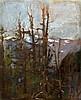 John da Costa (1876-1931) Alpine landscapes 12 x 10in.