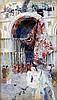 David Woodlock (1842-1929) Procession leaving St Mark's, Venice 9 x 5.25in.