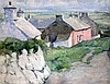 Walter Durac Barnett (1876-1961) Solva, Pembrokeshire 14 x 18in.
