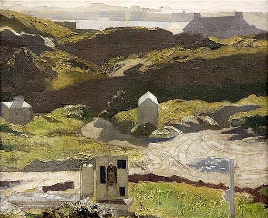 Sir Miles Fletcher de Montmorency (1896-1963) The Deserted Quarry, N.F.S. 10 x 12in.