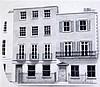 Arthur Ernest Barbosa (1908-1995) Regency couple; Book jacket design and Park Street largest 11 x 8.5in., unframed