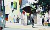 § Cecil Rochfort D'Oyly John (1906-1993) Valauris, near Nice 8 x 13in.