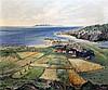 Eilidh Barnardo (1911–1994) Scottish landscape with Isle of Skye 20 x 24in.