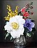 James Noble (1919-1989) Arrangement of spring flowers 10 x 8in.