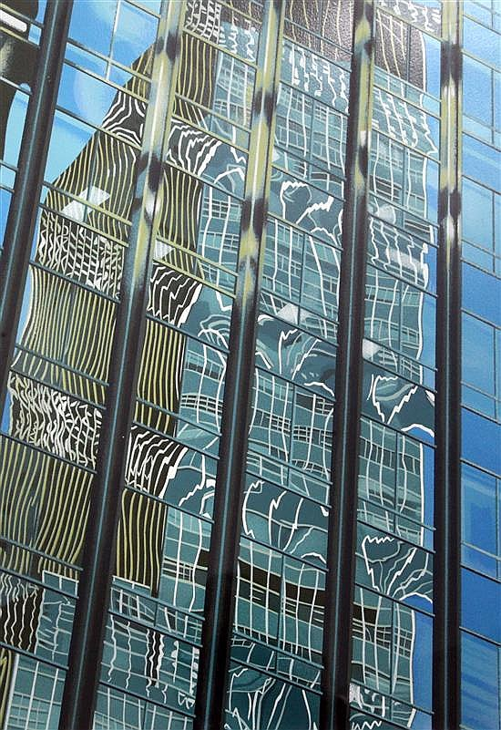 Brendan Neiland (1941-) Dancing Reflections overall 31 x 24in.