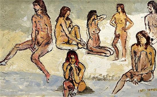 § Fred Yates (1922-2008) Female nudes 11 x 17in.