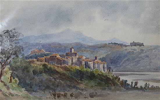 Augustus John Cuthbert Hare (1834-1903) View of Notre Dame,