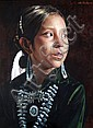 Don Crowley (American, 1926-) Study for Navaho child 13.5 x 10.5in., Don Crowley, Click for value