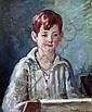 Vanessa Bell (1879 -1961) Portrait of 'Peter John', 1939 19 x 15in.