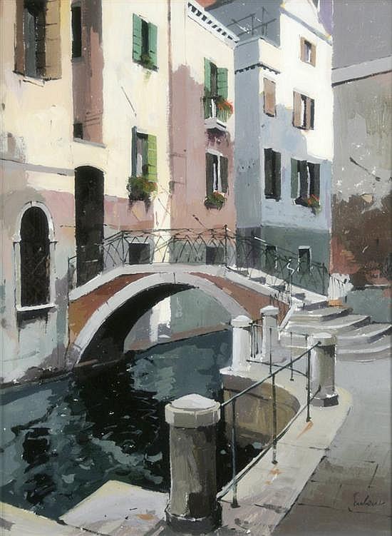 Jeremy Barlow (1945-) A.R.O.I 'Venice, 15 x 11ins