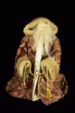 A Limited Edition Red Robe Santa Claus Decorative Doll (Medium)