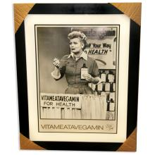 I Love Lucy - Museum Framed & Matted Lithograph '' Vitameatavegamin''