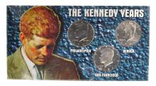The Kennedy Yars Coin Set