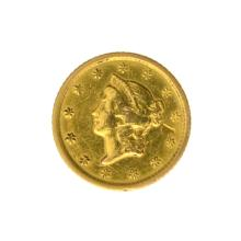 *1851-O $1 U.S. Liberty Head Gold Coin - Great Investment - (JG PS)