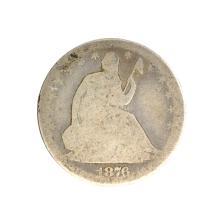 1876-S Liberty Seated Half Dollar Coin