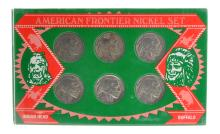 American Frontier Nickel Minted Coin Set
