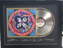 Engraved Kiss Gold Album